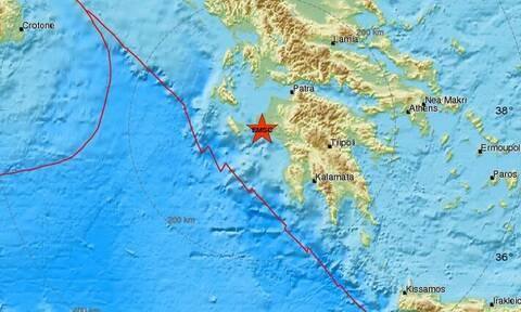 Σεισμός στην Ηλεία - Νέα ισχυρή σεισμική δόνηση κοντά στην Αμαλιάδα (pics)