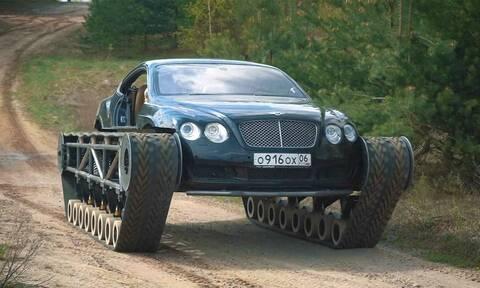 Μία Bentley Continental GT όπως δεν την έχετε ξαναδεί!