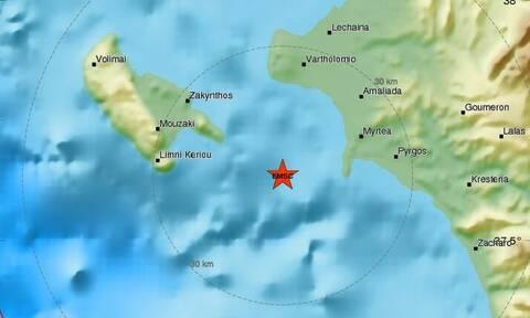 Σεισμός στην Αμαλιάδα: Αυτό είναι το μέγεθος του σεισμού που αναστάτωσε τα μεσάνυχτα τους κατοίκους
