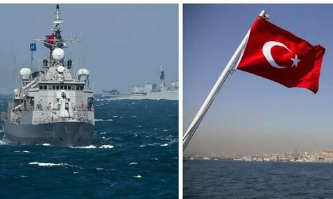 Τύμπανα πολέμου: 131 πλοία βγάζει η Άγκυρα στο Αιγαίο – Μπαράζ παραβιάσεων από τουρκικά μαχητικά