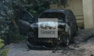 Unidentified individuals target TV reporter's car with incendiary device
