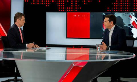 Δεν φαντάζεστε τι τηλεθέαση έκανε η συνέντευξη του Τσίπρα στον Alpha (pics)