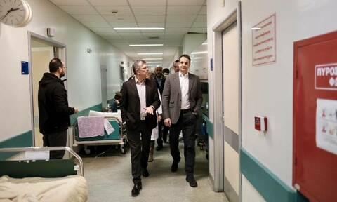 Μαξίμου: Ομολογία Μητσοτάκη για κατάργηση της δημόσιας Υγείας