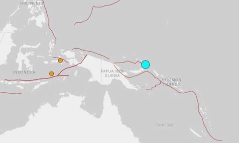 Ισχυρός σεισμός 7,5 Ρίχτερ στην Παπούα Νέα Γουϊνέα