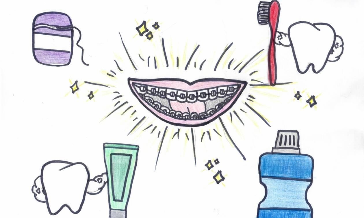 Παγκόσμια Ημέρα Ορθοδοντικής Υγείας: 40 παιδιά ζωγράφισαν το παιδικό χαμόγελο (pics)