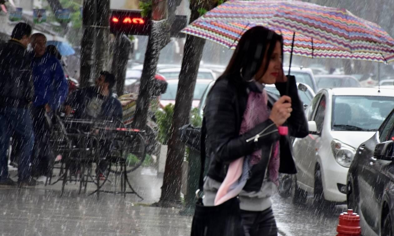 Καιρός: Βροχές, καταιγίδες και σκόνη την Τετάρτη (15/5) - Αναλυτική πρόγνωση για όλη τη χώρα