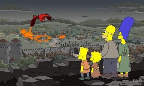 Game of Thrones: Τρομερό! Οι Simpsons είχαν προβλέψει το τέλος πριν δύο χρόνια (vid)