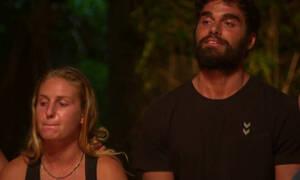 Survivor: Λύγισε η Δαλάκα με την αποχώρηση του Ατακάν - Τα κλάματα και τα πλάνα που την... «καίνε»