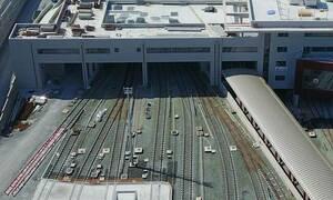 Θεσσαλονίκη: Φτάνουν τα πρώτα βαγόνια του Μετρό (pics)