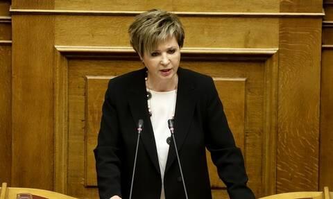 Στη δικαιοσύνη κατά της ΝΔ προσφεύγει η Όλγα Γεροβάσίλη