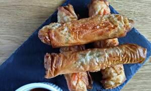 Η συνταγή της ημέρας: Spring rolls