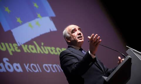 Μεϊμαράκης: Να στηρίξετε το κόμμα, που έβαζε πάντα την πατρίδα πάνω από όλα