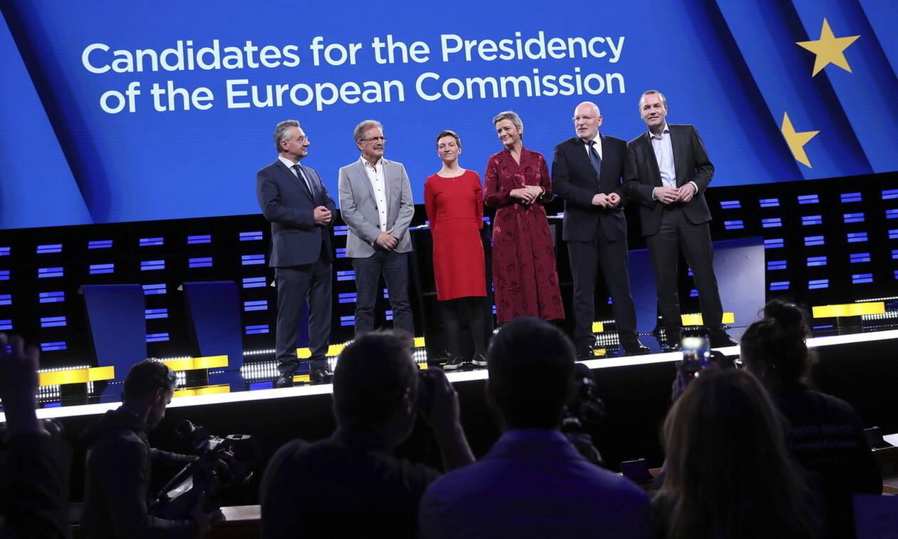 Με... Ελλάδα η τηλεμαχία των υποψήφιων για την προεδρία της Ευρωπαϊκής Επιτροπής (vid)