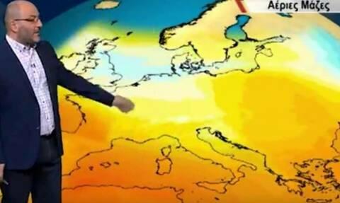 Καιρός: Έκτακτη προειδοποίηση από τον Σάκη Αρναούτογλου - Έρχεται θερμή εισβολή