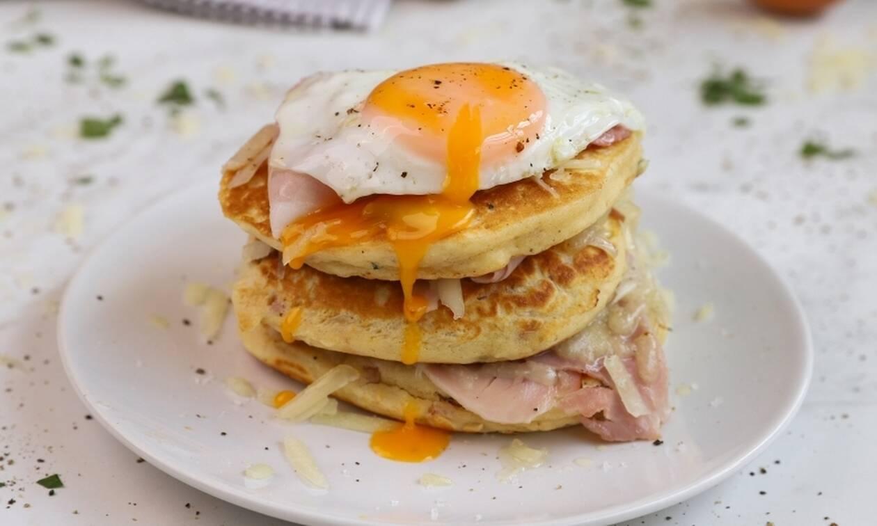 Η συνταγή της ημέρας: Αλμυρά pancakes