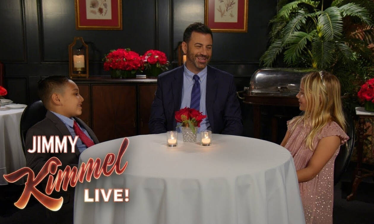 Ο Jimmy Kimmel ρώτησε 5χρονα τι είναι αγάπη και οι απαντήσεις τους τον άφησαν άφωνο (vid)