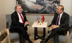 Συνάντηση Κατρούγκαλου - Τσαβούσογλου στη «σκιά» νέων απειλών για την κυπριακή ΑΟΖ