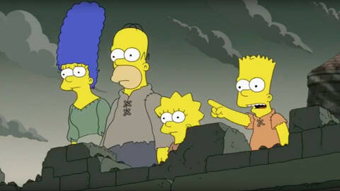 Τρομακτικό: Η πρόβλεψη των Simpsons για το τέλος του Game of Thrones! (pics+vid)