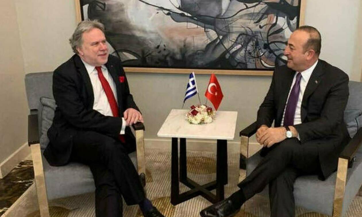 В Хельсинки состоялись переговоры Георгиоса Катругалоса и Мевлюта Чавушоглу