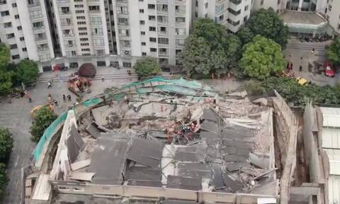 Τραγωδία στην Σαγκάη: Τουλάχιστον 7 νεκροί από την κατάρρευση κτηρίου (pics)