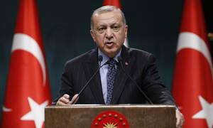 Ερντογάν: Έχουμε «εξουδετερώσει» περισσότερους από 400 «τρομοκράτες» τα τελευταία 2,5 χρόνια