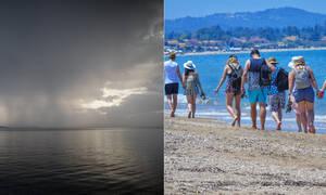 Καιρός τώρα: Για ομπρέλα η Παρασκευή - Για παραλία το Σάββατο (pics)
