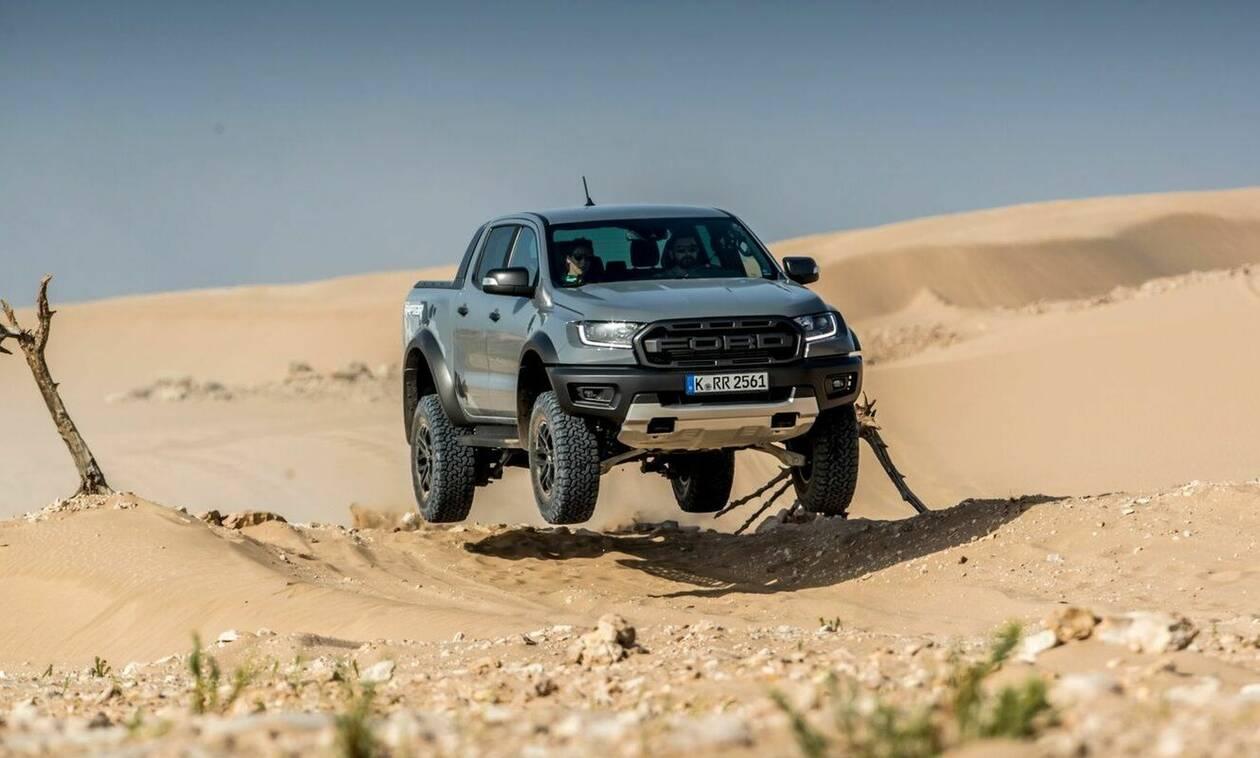 Το εντυπωσιακό Ford Ranger Raptor είναι ένα μοναδικό on-off RS