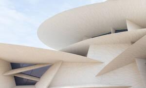 Το νέο εκπληκτικό μουσείο του Qatar βγαλμένο από την έρημο