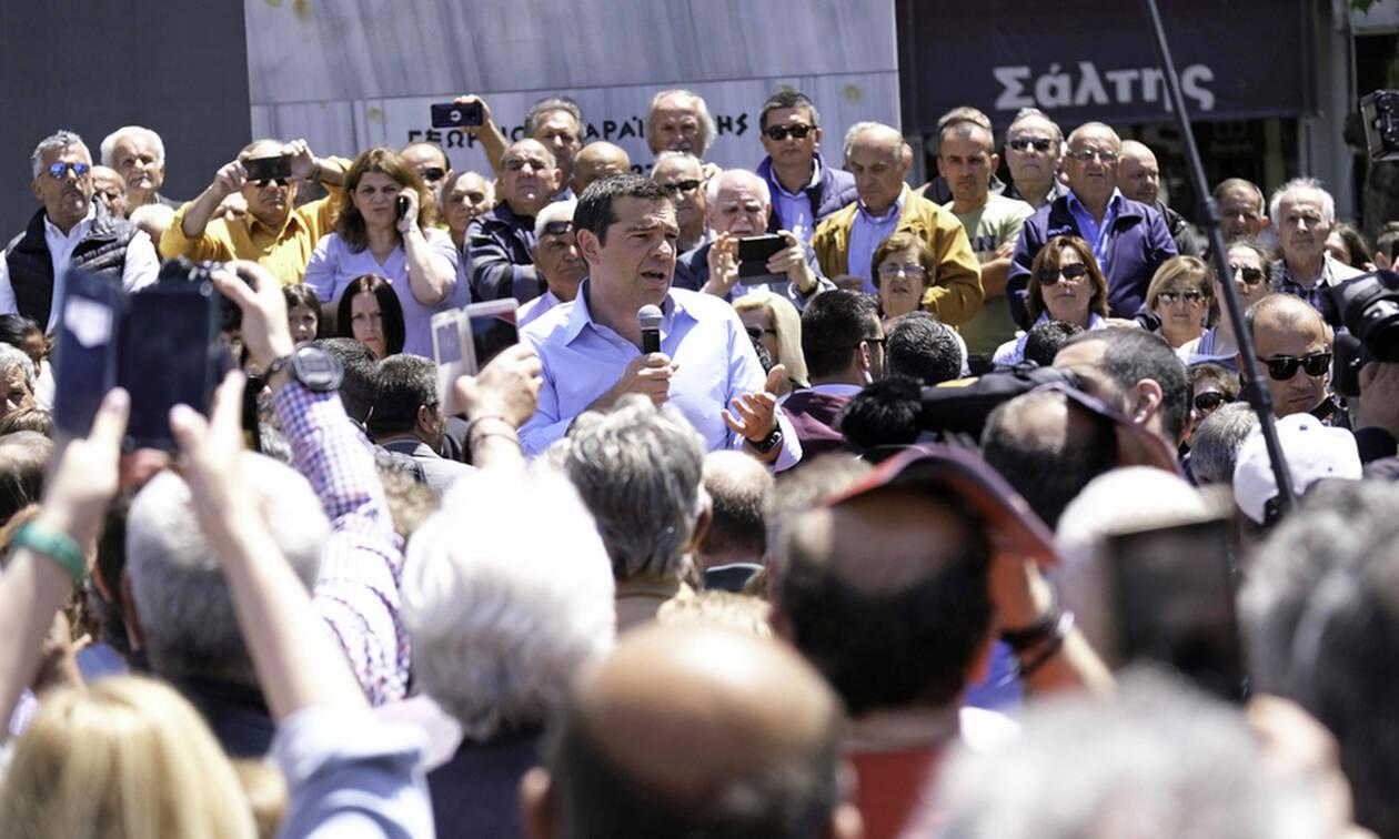 Τσίπρας από Καρδίτσα: «Η 26η Μαΐου, η αρχή για τη μεγάλη νικηφόρα πορεία»