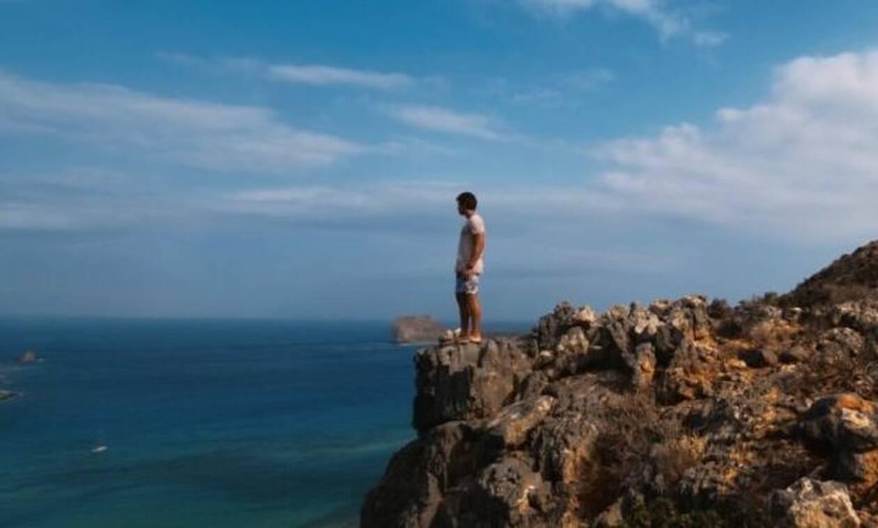 Ιταλός ερωτεύτηκε… παράφορα την Κρήτη και της αφιερώνει μια βιντεάρα με μοναδικά πλάνα!