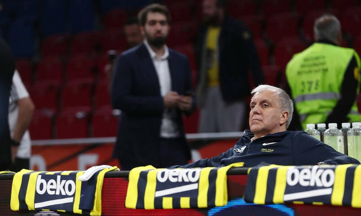 Euroleague Final Four: Το απίστευτο στατιστικό για την ήττα του Ομπράντοβιτς