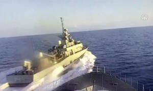 Νέα τουρκική πρόκληση: Το Anadolu μεταδίδει ότι ελληνική πυραυλάκατος παρενόχλησε τουρκική κορβέτα
