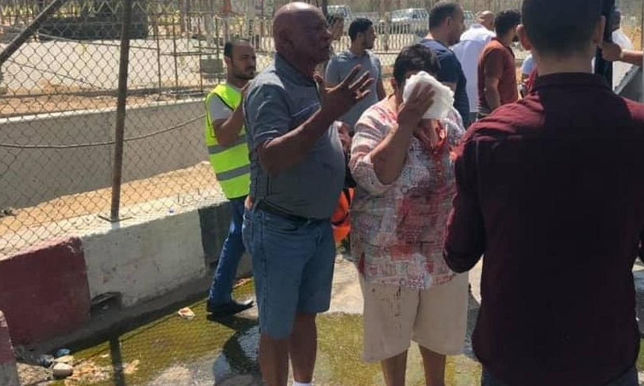 Έκρηξη σε τουριστικό λεωφορείο στις πυραμίδες της Γκίζας