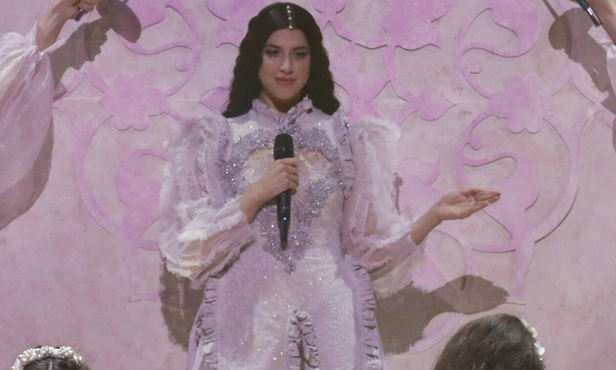 Eurovision 2019: Δες από κοντά το look της Κατερίνας Ντούσκα