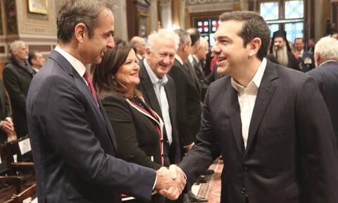 Δημοσκοπήσεις: Πώς βαθμολογούν οι Έλληνες Τσίπρα και Μητσοτάκη - Ποιος κερδίζει