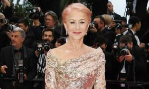 Το pink hair look της Helen Mirren έκλεψε την παράσταση στο Φεστιβάλ Καννών
