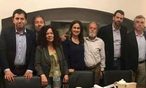 Με τον ΣΕΛΠΕ συναντήθηκε η υποψήφια ευρωβουλευτής Ελένη Παναγιωταρέα