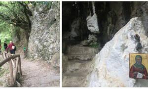 Ρέθυμνο: Επισκεφθήκαμε το θαυματουργό εκκλησάκι του Αγίου Αντωνίου στην Πατσό