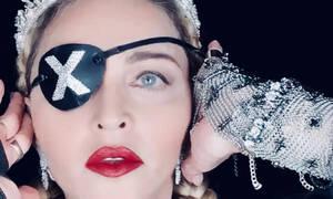 Σκάνδαλο: Η τραγική προσπάθεια της Madonna να ξεγελάσει το κοινό της Eurovision (video + photos)