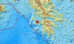 Σεισμός ΤΩΡΑ μεταξύ Ζακύνθου και Ηλείας (pics)