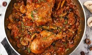 Η συνταγή της ημέρας: Κοτόπουλο κατσιατόρε