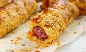 Η συνταγή της ημέρας: Λουκανικόπιτες