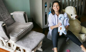 Κ.Παπουτσάκη: Η υπέροχη φώτο που τράβηξε ο γιος της Μάξιμος στον 3ο μήνα της εγκυμοσύνης της (pics)