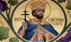 Ο Άγιος Κωνσταντίνος ο Μέγας, ο πρώτος χριστιανός αυτοκράτορας και ισαπόστολος
