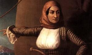Σαν σήμερα το 1825 πέθανε η Μπουμπουλίνα