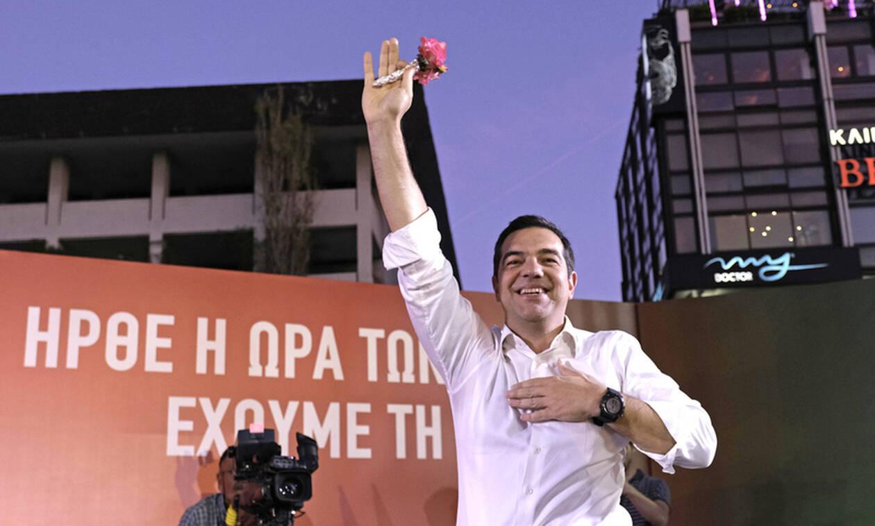 Τσίπρας από Λάρισα: Εντολή κατάργησης των μέτρων, η ψήφος στη ΝΔ την Κυριακή