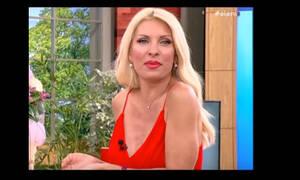 Άφωνη η Μενεγάκη με αυτό που είδε on air (video)
