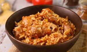 Πεντανόστιμη συνταγή για γιουβέτσι με κοτόπουλο