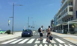 Η πόλη της Ελλάδας όπου οι οδηγοί σταματούν ΠΑΝΤΑ στις διαβάσεις!