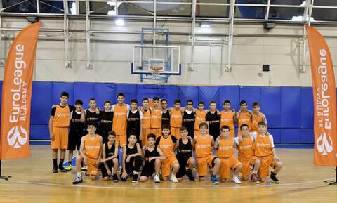 PAO BC Academy: Τζάμπολ στη Euroleague Academy με Καλάθη και Γκιστ! (photos)